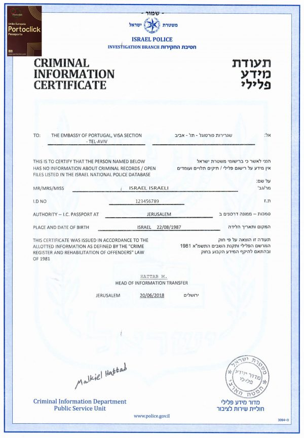 Translation Certificate of